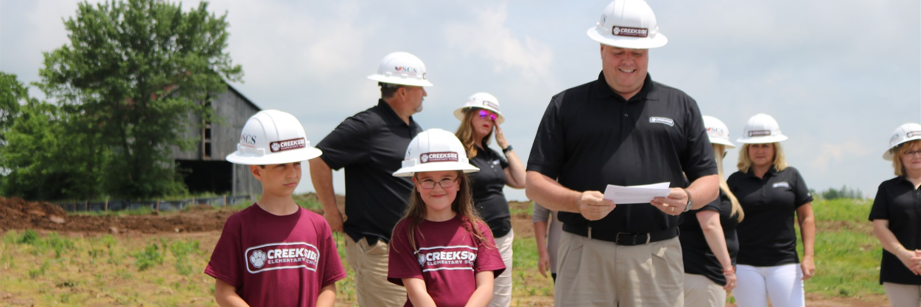 Creekside Groundbreaking