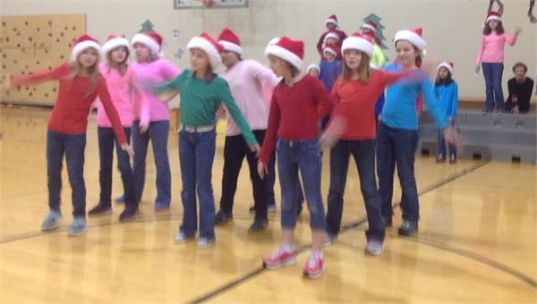 Holiday Program featuring First Grade and Performing Morgans