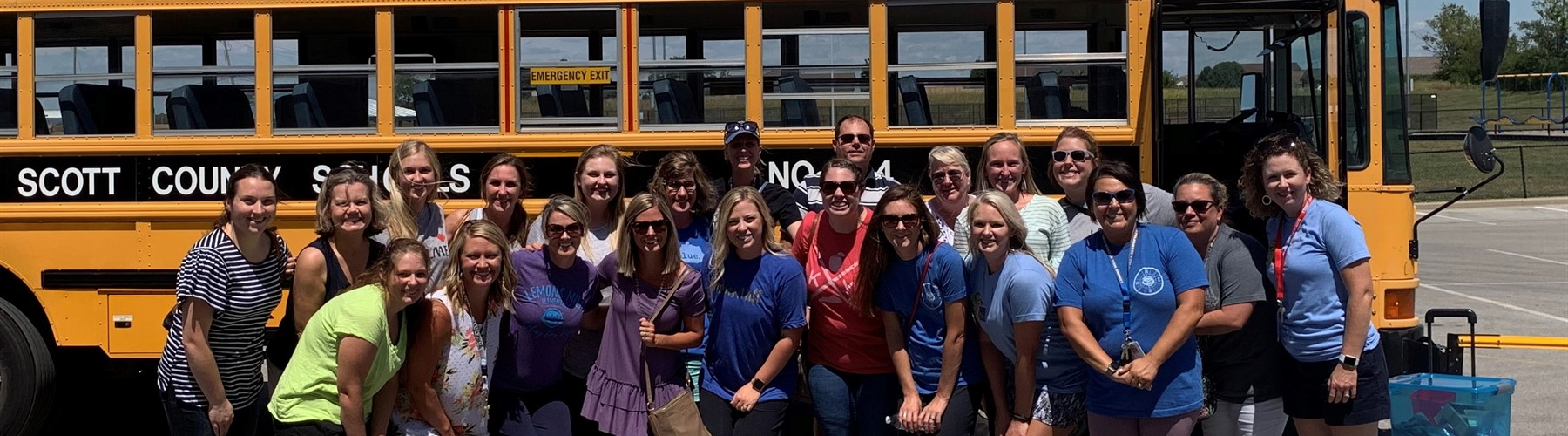 Staff rides the bus routes!