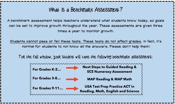 What is a Benchmark Assessment?