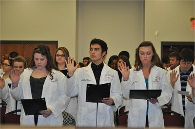 White Coat Ceremony 2011