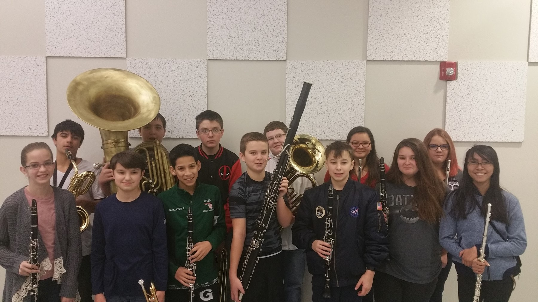 7th Grade Honor Band Selectees