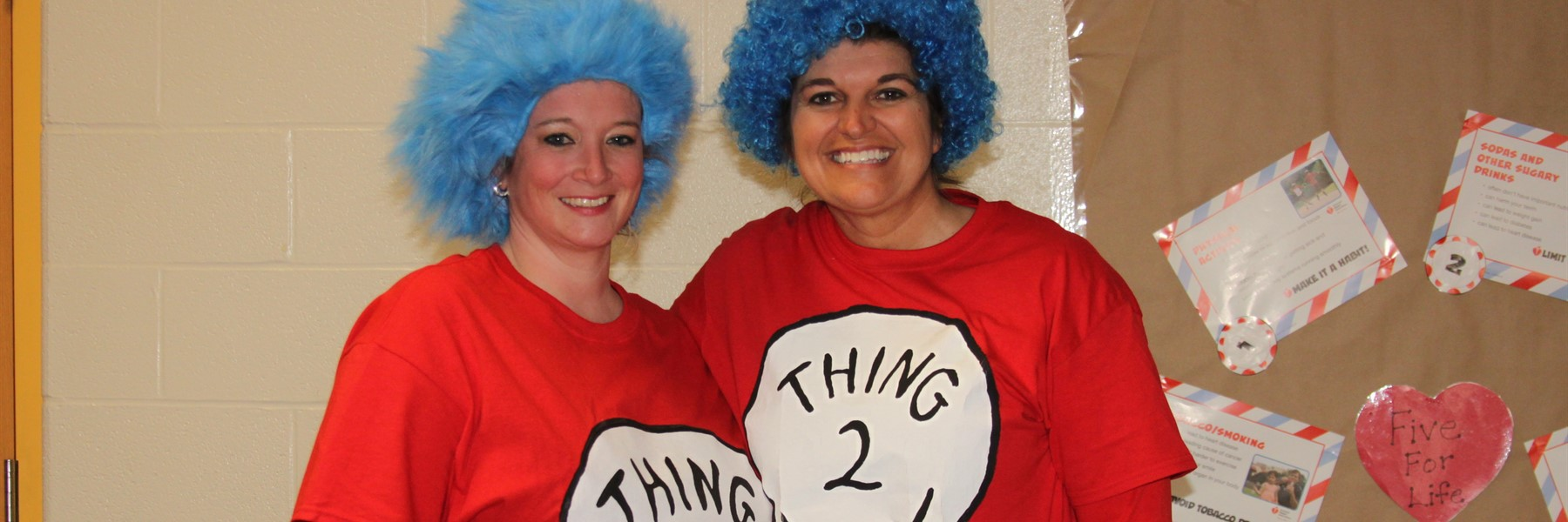 Kindergarten Teachers support Dr. Seuss