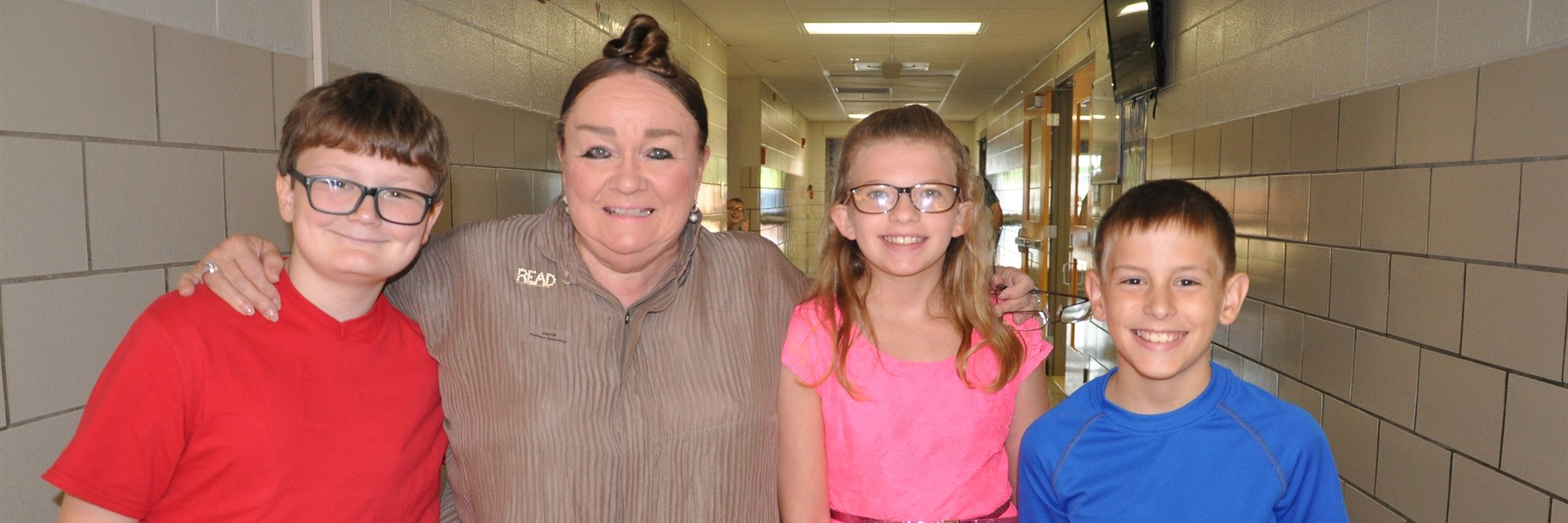 Patricia Polacco visits elementary schools