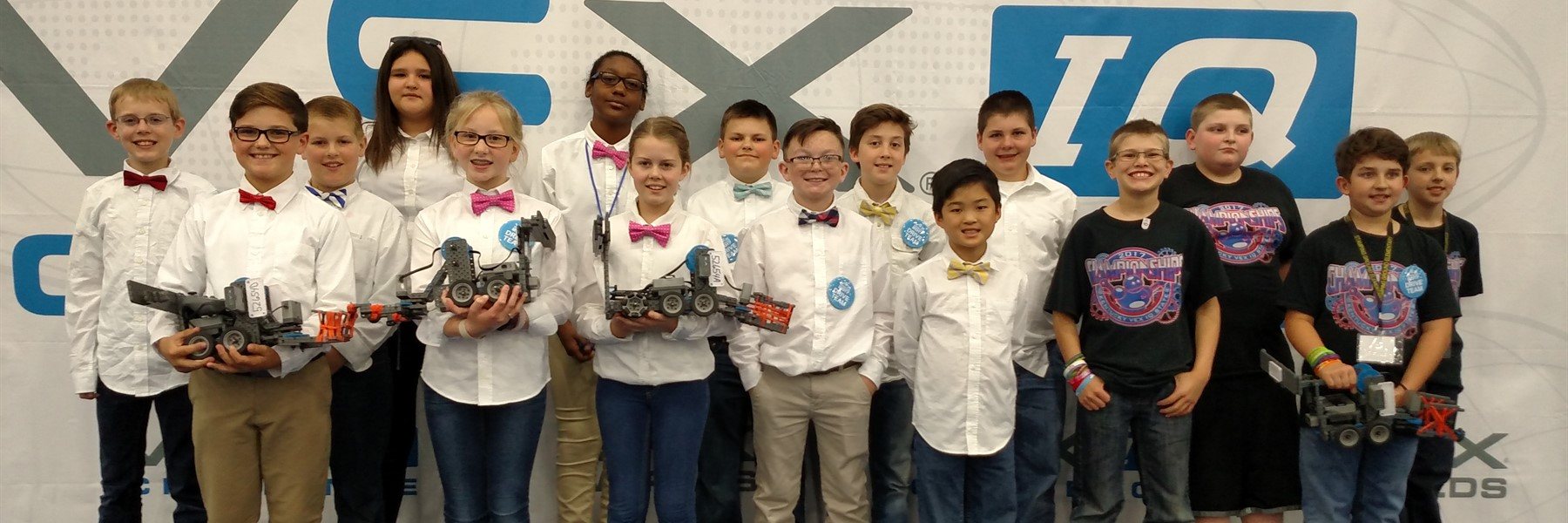 Robotics teams from Northern and Stamping Ground compete at VEX Worlds.