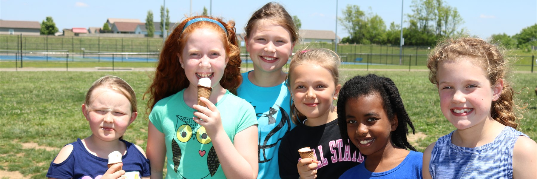 Attendance challenge champs celebrate with ice cream