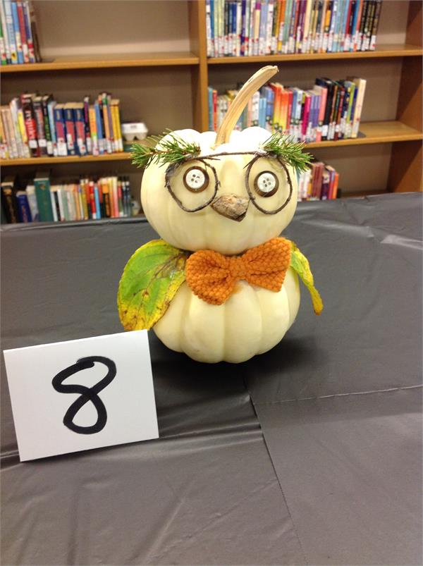 Teacher-Decorated Pumpkins