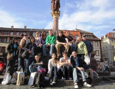 SCHS Group in Heidelberg 2011