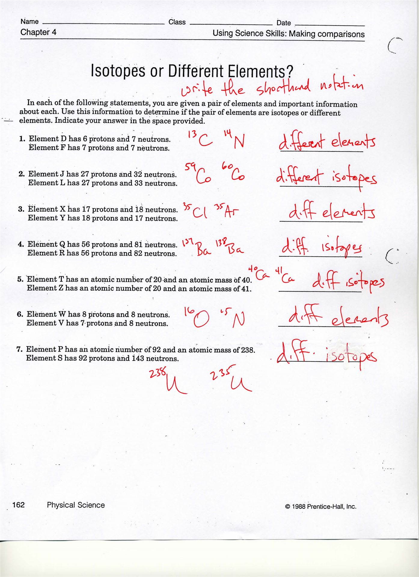 worksheet Elements Worksheet isotopes of elements worksheet scott county ninth grade school